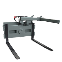 Attachment tools for Telehandlers - Pallet fork with rotating device